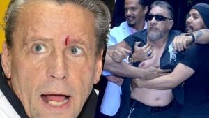Carlos Trejo agrede a Alfredo Adame en rueda de prensa y se forma tremendo caos
