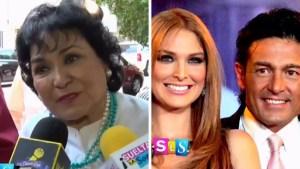 "Carmen Salinas: Soto y Colunga ""se aman"""