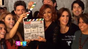"""Celebran los actores de """"La Doña"""""""