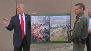 """""""Sin muro no hay país"""": Donald Trump en California"""