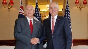 EEUU y Australia muestran alianza contra Corea del Norte