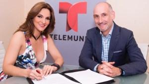 Mariana Seoane firma exclusividad con Telemundo