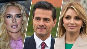 Hija de Peña Nieto habla de la novia de su padre, Tania Ruiz