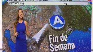 Se alejan las lluvias, dando paso a días secos y cálidos. Janet Bolívar con el pronóstico.