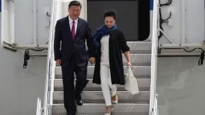 Presidente chino llega a EEUU para reunión con Trump