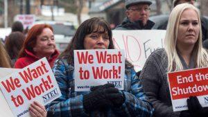 A 21 días del cierre: 800,000 trabajadores no reciben paga