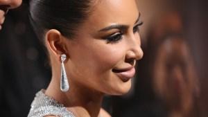 Kim Kardashian se cubre de cristales para Cannes