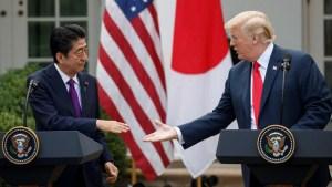 Diario: EEUU pidió a Japón que nominara a Trump al Nobel
