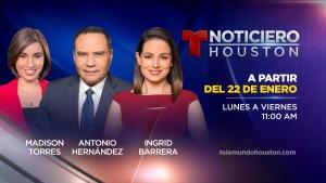 Telemundo Houston lanza nuevo noticiero a las 11 a.m.