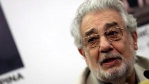Le llueven acusaciones de acoso a Plácido Domingo