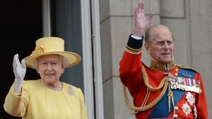 Esposo de la reina Isabel sufre accidente de tránsito