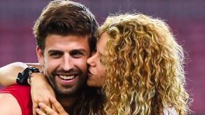 Piqué publica foto en medio de rumores de ruptura con Shakira