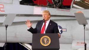 Trump propone que EEUU tenga un ejército espacial
