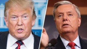 A 24 días del cierre, Graham le pide a Trump que ceda
