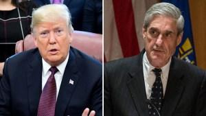Trama rusa: Trump apoya difundir el reporte de Mueller