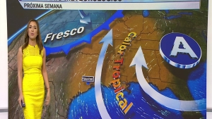 Regresa el sol y las temperaturas comienzan a subir. Janet Bolívar con el pronóstico.