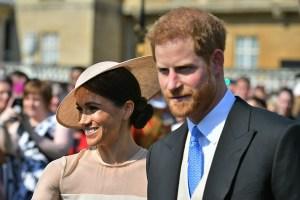 Cómodos y entre risas: el primer look de los duques de Sussex