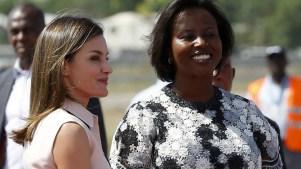 La reina Letizia de España llega a Haití: ¿qué favor le pidió la primera dama?