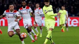 Roban casas de jugadores del Lyon mientras enfrentaban al Barcelona