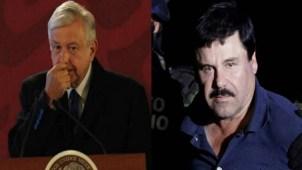 """AMLO conmovido por la sentencia a """"El Chapo"""" Guzmán"""