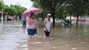 Lluvias en Sinaloa y Sonora, atípicas y muy agresivas