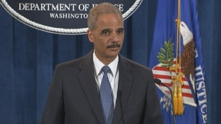 Holder se despide del Departamento de Justicia