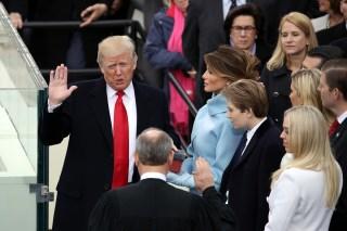 Presidente Donald Trump...así fue su investidura
