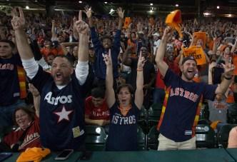Se desata la fiebre naranja por los Astros