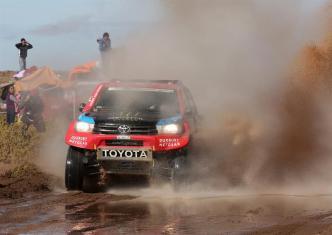 Tragedia llega a Dakar por alud en Argentina