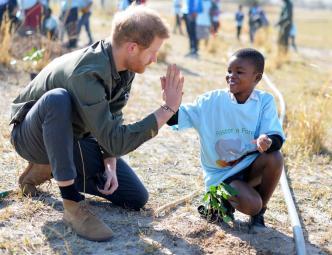 Príncipe Harry lanza fuerte mensaje sobre crisis climática