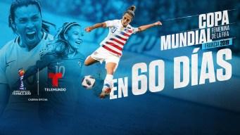 A solo 60 días de la Copa Mundial Femenina Francia 2019
