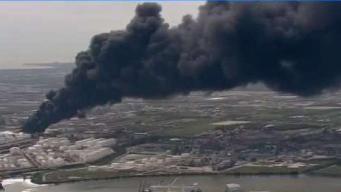 Comunidades en alerta tras secuelas de explosión de planta