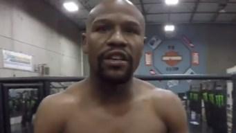 """Mayweather """"coquetea"""" con pelea en la MMA"""