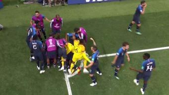 Francia marca el tercero y se acerca a la Copa