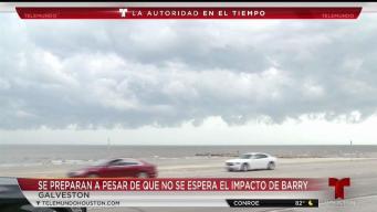 Galveston se prepara ante tormenta tropical Barry