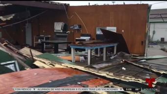 La ciudad de Rockport un año después del Huracán Harvey