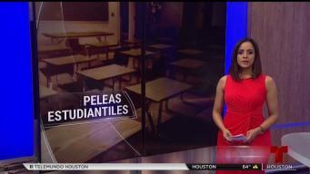 Revelan reporte de peleas estudiantiles