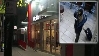 Anciana de 87 años recibe paliza en un McDonald's