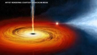Difunden la primera foto de un agujero negro