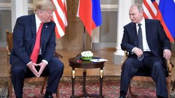 Trump afirma dijo a Putin que no toleraría injerencia rusa