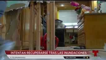 Vecinos en Kingwood buscan recuperarse tras lluvias