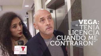Vega comparece en corte por acusación en su contra