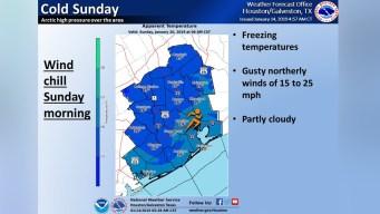 Posibles temperaturas congelantes el fin de semana