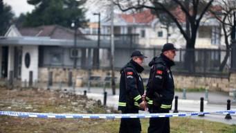 Ataque suicida contra embajada de EEUU en Montenegro