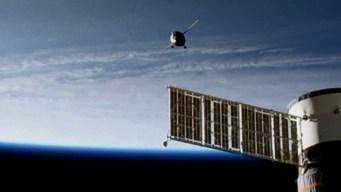 Cápsula con robot humanoide llega a Estación Espacial