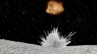 Increíble: lanzan explosivo contra un asteroide
