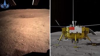 Histórico: nave llega a la cara oculta de la Luna