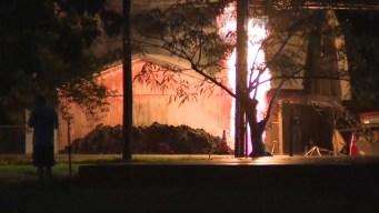 Cinco heridos tras explosión en línea de gas en Santa Fe