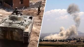 De cerca: los bombazos de la sangrienta guerra en Siria