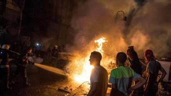 Infierno en El Cairo: choque causa destrucción y muertes
